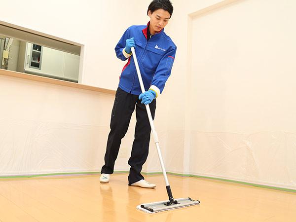 床(フローリング)の大掃除がサクサク進むオススメの方法